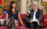 Suzi Perry - Upskirt (Slo-mo) - This Morning - 29/10/10