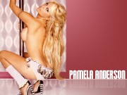 Pamela Anderson : Sexy Wallpapers x 4