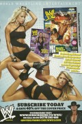 Kelly Kelly and Michelle McCool-WWE Magazine Advert