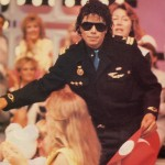 1985AUSTRALIA:Perth'sTelethon-Black Shirt, Blue  125d08116595306