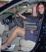 Car show girls