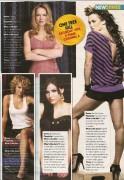 Sophia Bush,Daneel Harris,Bethany Joy Galeotti and Hillary Burton-Daily Star Magazine