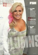 Natalya Neidhart-Fighting Spirit Monthly Issue 66