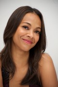 Zoe Saldana at the Colombiana Press Conference in Beverly Hills, 24 August, x16