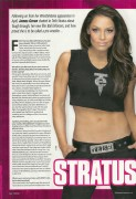Trish Stratus-Fighting Spirit Magazine June 2011