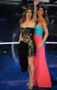 Белен Родригез, фото 225. Belen Rodriguez - revealing Sanremo Festival day 2 - Feb 15, foto 225